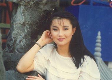 张曼玉早期照片